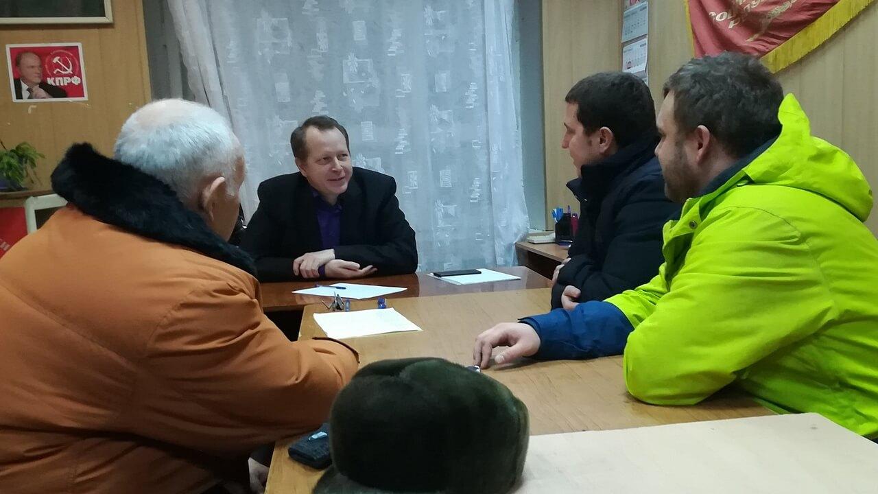 Владимир Есипов прием граждан в Балаково