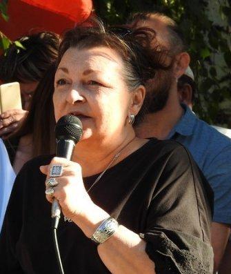 Лубкова. Митинг в Саратове