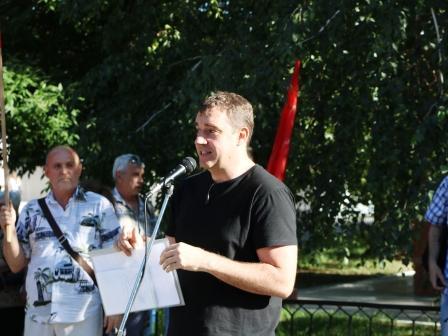Анидалов. Митинг в Саратове