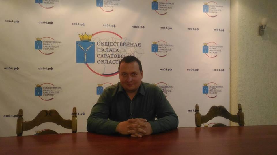 Александр Никишин. Фото с его личной страницы Facebook
