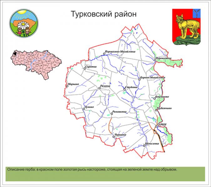 Турковский район
