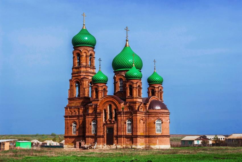 Переезд. Церковь Михаила Архангела