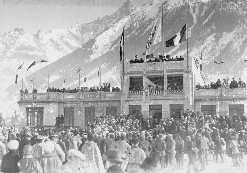 Зимние Олимпийские игры в Шамони 1924