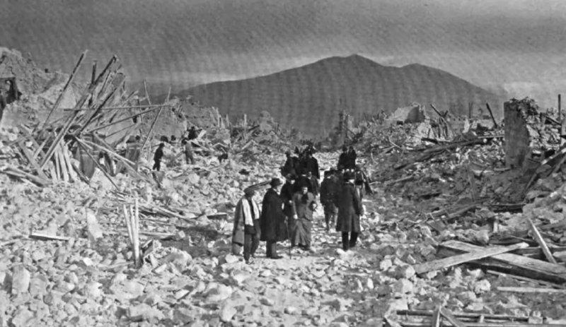 1915 Землетрясение в Италии