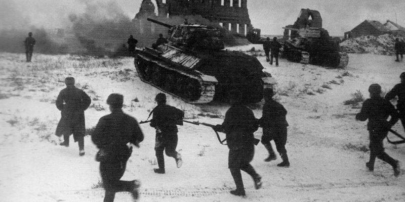 5 января 1943 года советские войска освободили от фашистов Цимлянск
