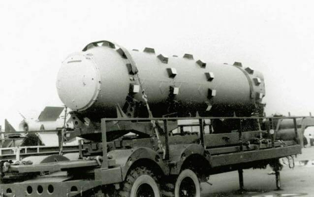 Баллистическая ракета подводных лодок Р-27 (4К10, РСМ-25)