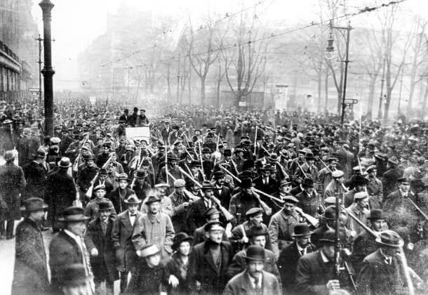 Демонстрация 5 января 1919