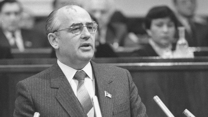 Горбачев секретарь ЦК КПСС 1987