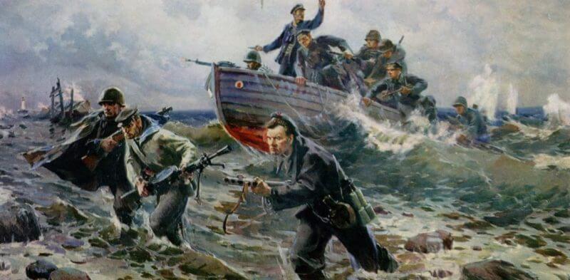 Картина Виктора Пузырькова «Черноморцы»