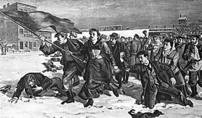 Казнь революционеров 1905