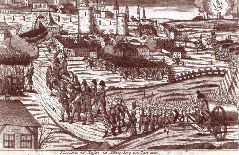 Кенигсберг 1758 год