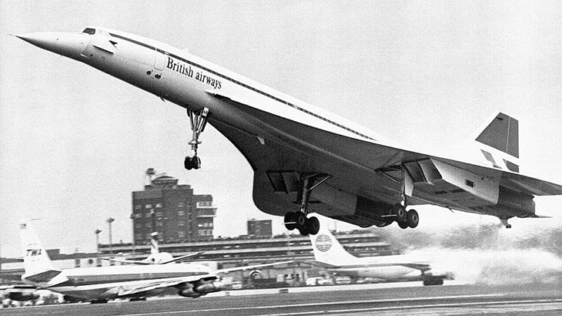 Конкорд самолет 1976 первый полет