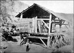 Лесопилка Джона Саттера (фото 1850 года)
