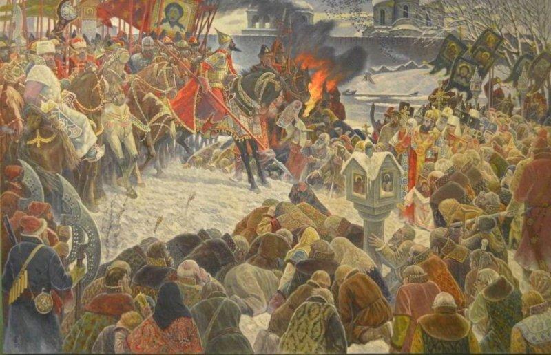 Новгородский погром Ивана Грозного