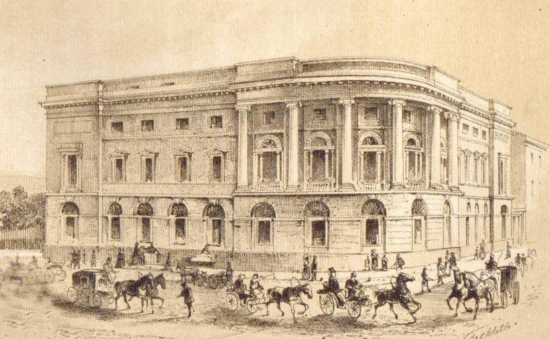 Первая библиотека в Петербурге 1814