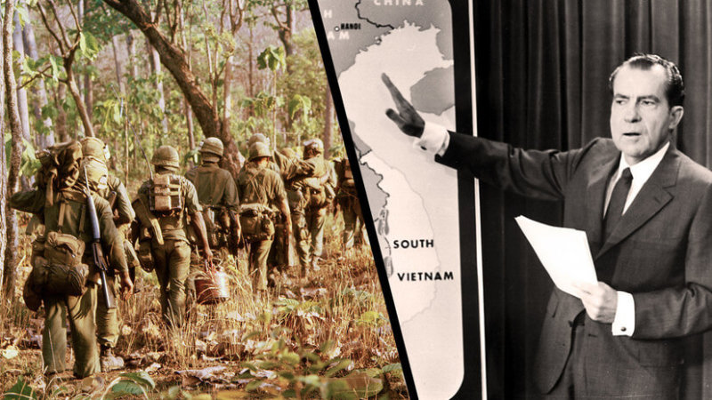 Ричард Никсон о войне во Вьетнаме