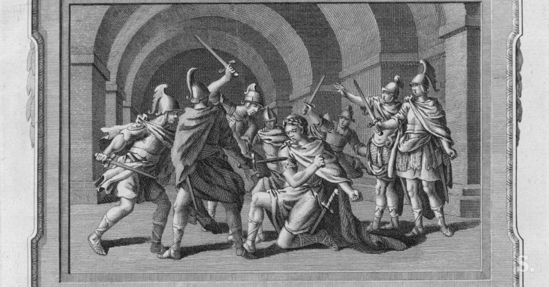Римская Империя убийство Калигулы