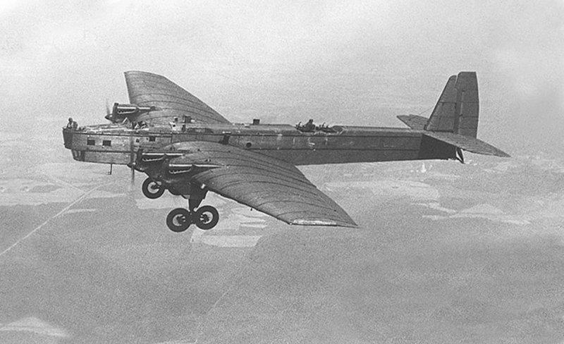 Самолет ант-6 ТБ-3