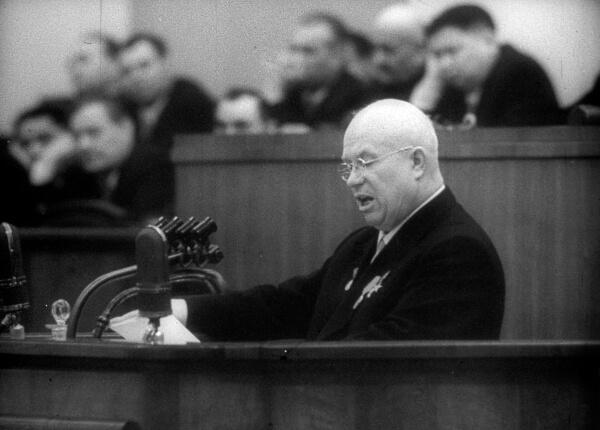 Сокращение Советской армии Хрущев