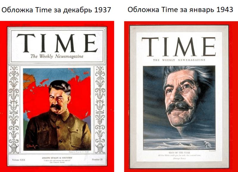 Журнал Таймс Сталин