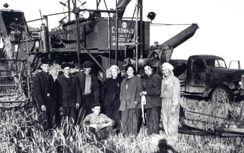 Целина на Алтае 1954