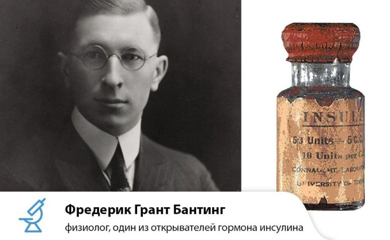 Фредерик Бантинг инсулин