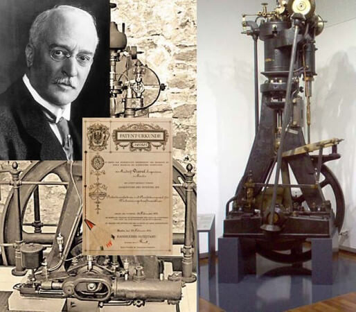 Немецкий инженер Рудольф Дизель