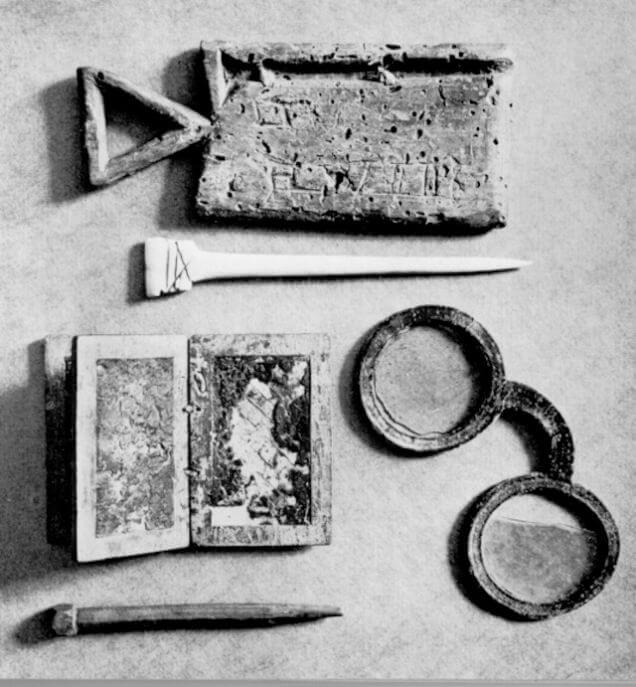 Очки из Клостер Винхаузен - самые древние из сохранившихся очков Германии.