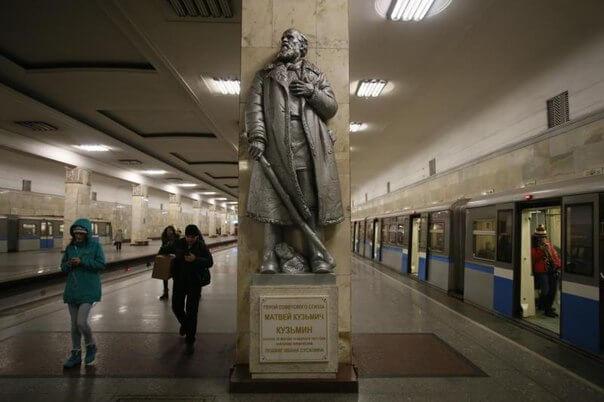 Памятник.Матвей Кузьмич Кузьмин