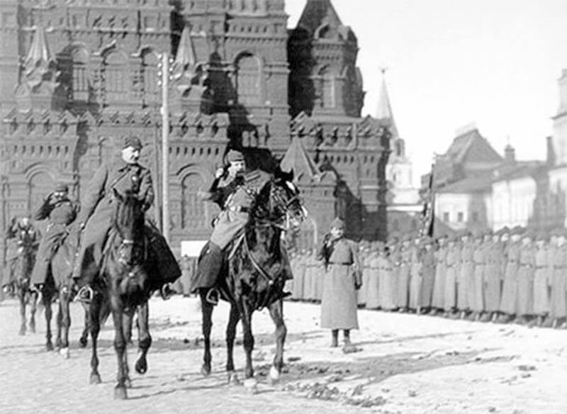 Парад на красной площади 1925