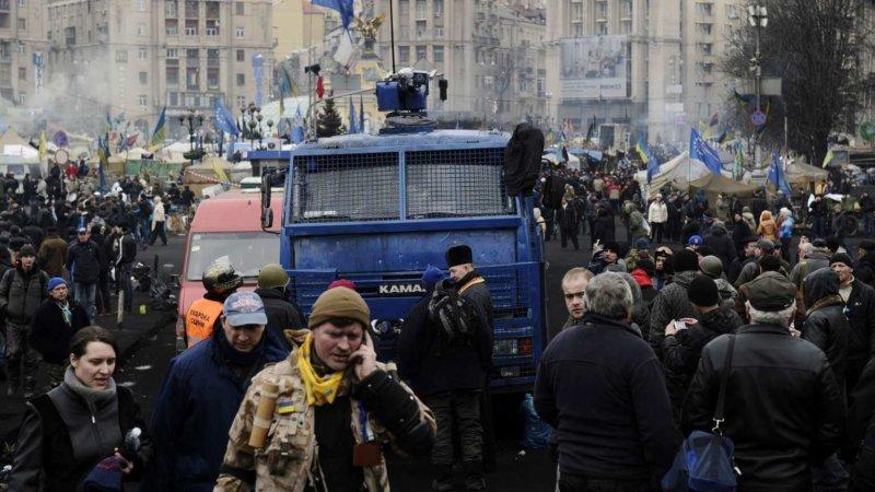 Переворот в Украине 2014