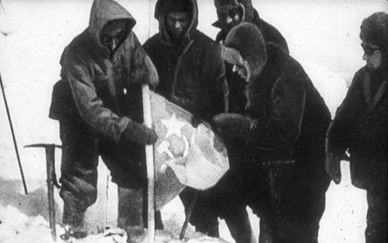 Советские альпинисты 1943