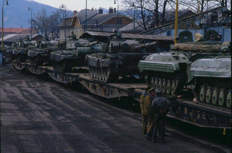Вывод войск СССР из Чехословакии