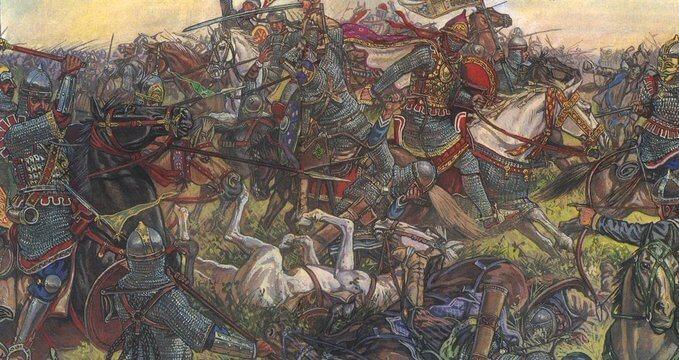 11 апреля 1103 разгром половецких орд русскими дружинами Святополка Киевского и Владимира Мономаха в ур