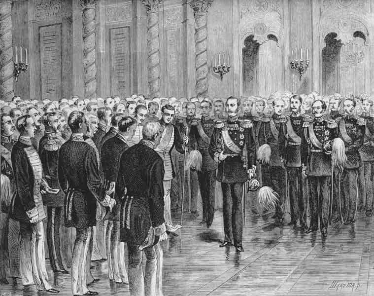 11 апреля 1856 года Александр II