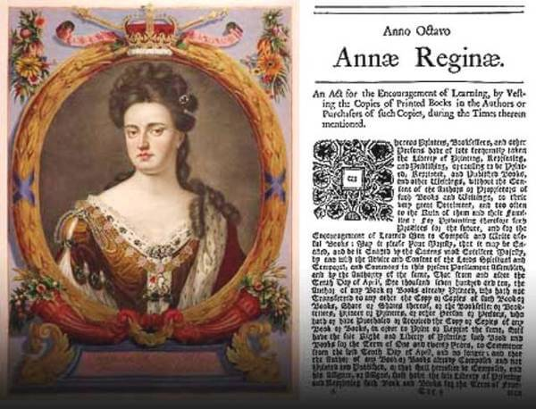 1710 - В Англии вступил в силу Статут королевы Анны - первый в истории закон об авторском праве.