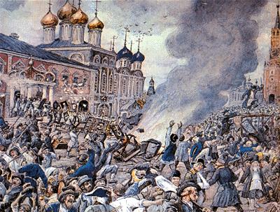 1771 - В Москве свирепствует чума