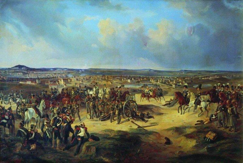 1814 - Войска антифранцузской коалиции разбили наполеоновскую армию в ряде сражений и повели наступление на Париж