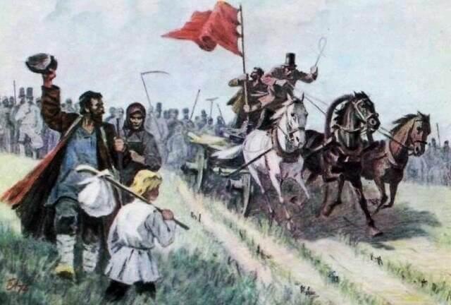 1861 - Впервые в истории России поднят красный флаг!