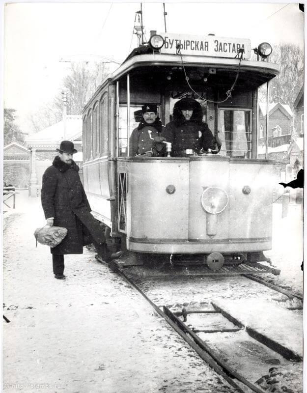 1899 - В городе Москве пущен первый трамвай,