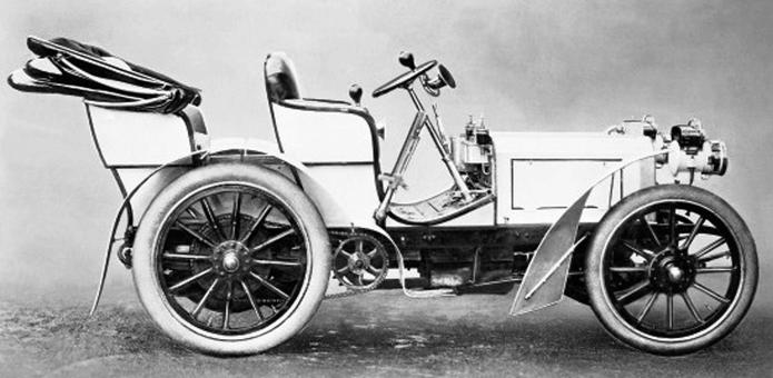 1901 - Рождение первого автомобиля марки Мерседес