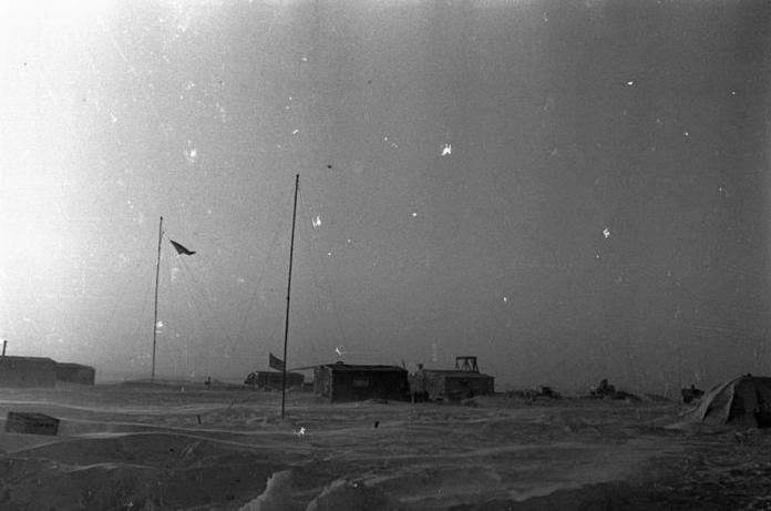1968 - Организована научно-исследовательская станция Северный полюс-16
