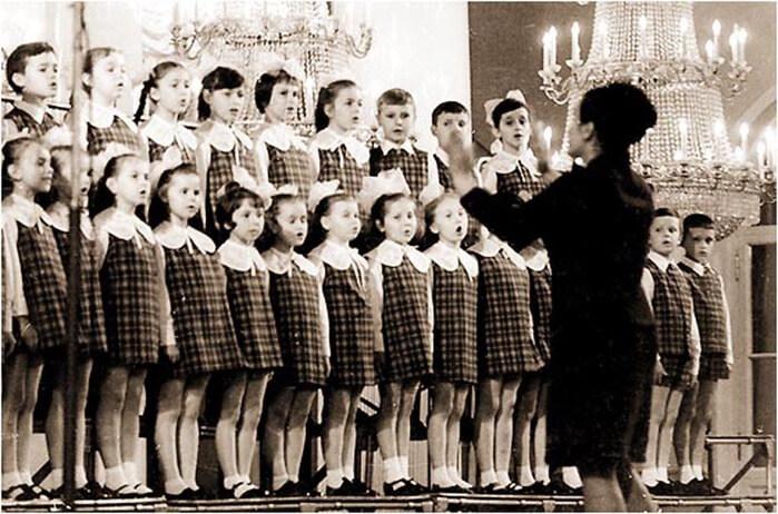 1970 - Создан Большой детский хор Центрального телевидения и радиовещания
