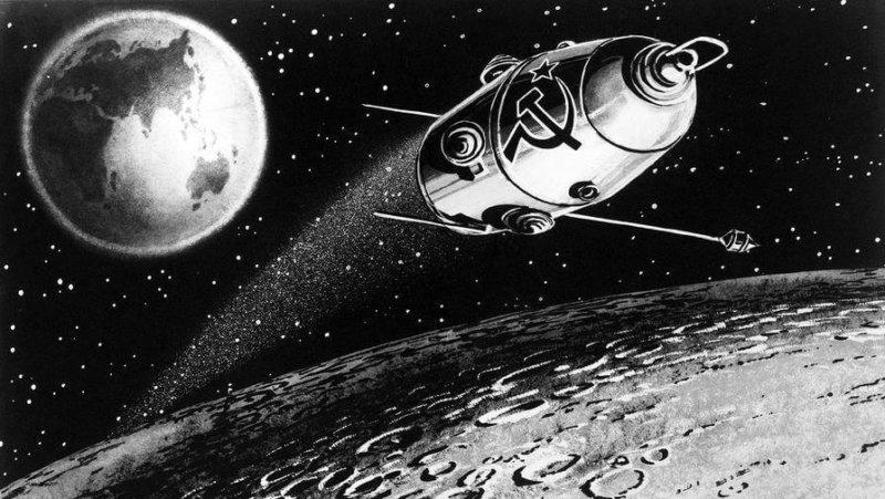 2 апреля 1966 года советский спутник Луна-10 стал первым в мире космическим аппаратом, облетевшим Луну