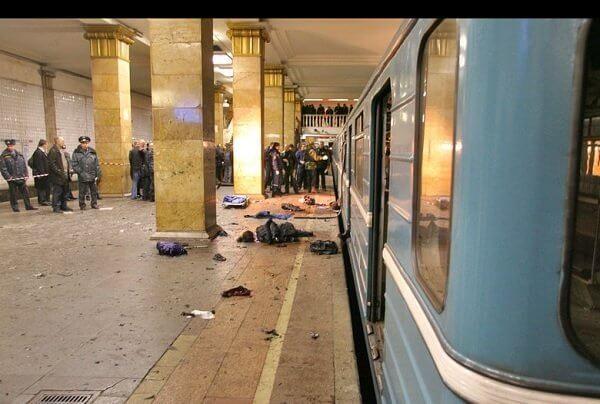 2010 - Теракт в московском метро