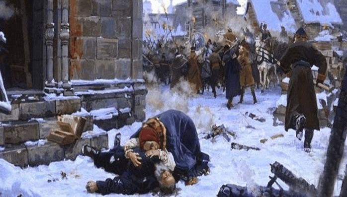 29 марта 1611 года восстание в Москве против поляков. В ответ интервенты сожгли Москву