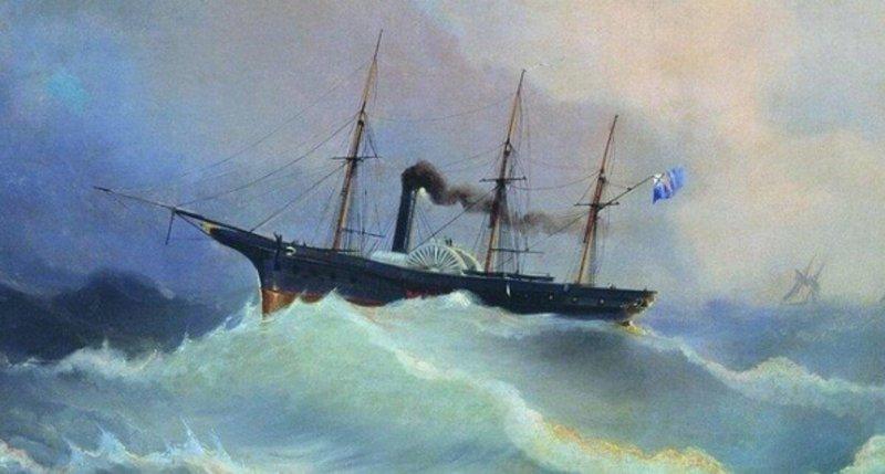 29 марта 1823 года в Николаеве заложен первый русский паровой корабль – 14-пушечный «Метеор»