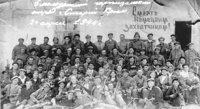 3 апреля 1944 года советские партизаны в Крыму перебили немецкую охрану тюрьмы в г. Старый Крым и освободили 46 патриотов.