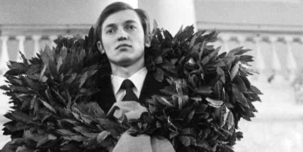 3 апреля 1975 года Анатолий Карпов провозглашен 12-м Чемпионом мира по шахматам