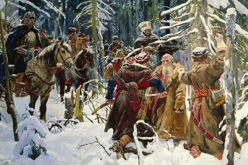 30 марта 1613 года совершил свой подвиг костромской крестьянин Иван Сусанин